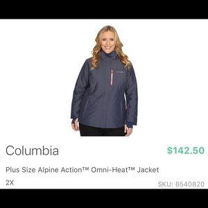 Columbia outdoor winter jacket